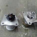 ダイハツ ムーヴ エンジン異音(DBA-L175S ウォーターポンプ交換)