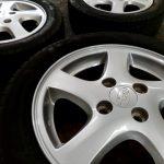 スバルR2 タイヤ交換(CBA-RC1)  ~新車装着タイヤにこだわる~